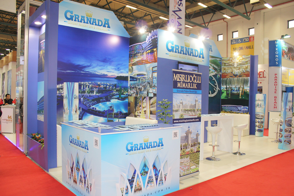Granada Luxury Resort SPA fuar standı emitt fuarı 4